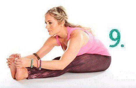 10-минутная йога для уравновешенного состояния на целый день 5