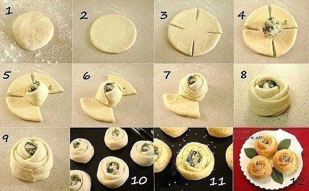 Как сделать нестандартные булочки 5