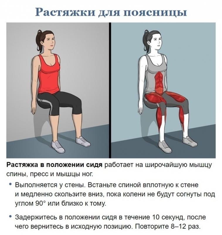 Упражнения для прекрасного самочувствия 6