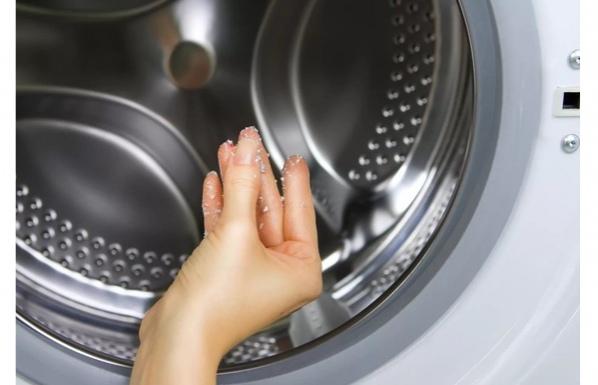 Удаляем известковый налет в стиральной машине 0