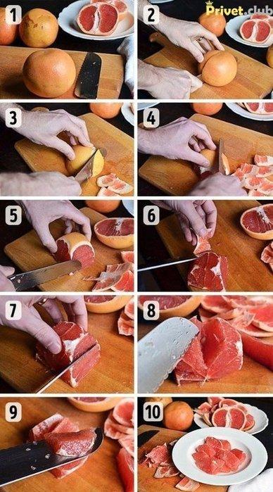 Как очистить цитрусы проще и легче 2