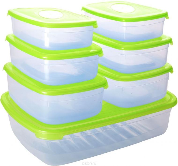 Как подстраховаться от неприятного запаха внутри пластиковых контейнеров 0