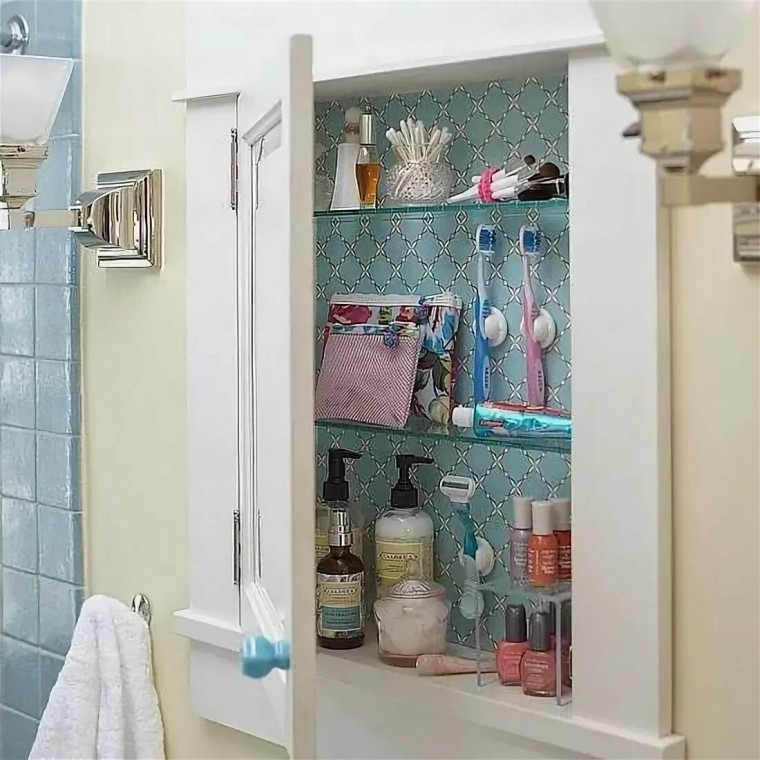 Простые и оригинальные способы наведения порядка в ванной комнате 8