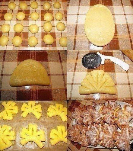 Как сделать нестандартные булочки 6