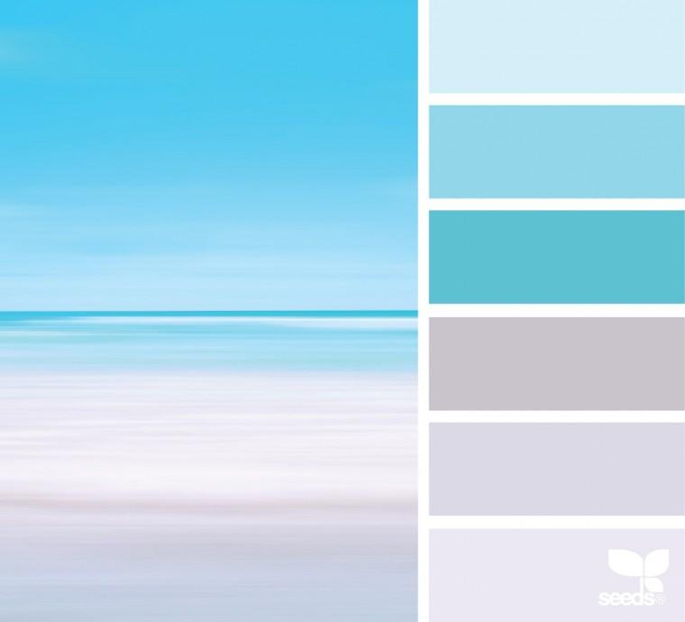 С какими цветами красиво сочетается синий 1