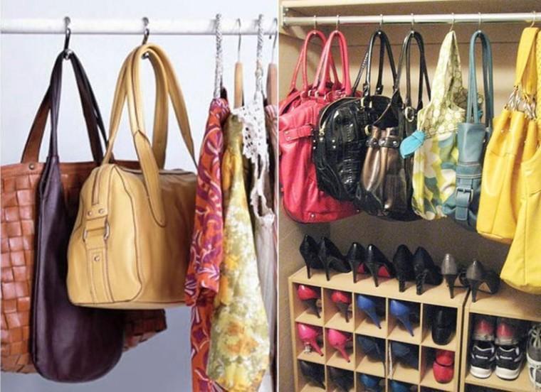 Храним женские сумочки лучшим образом 2