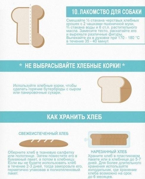 Хитрости использования черного хлеба 4