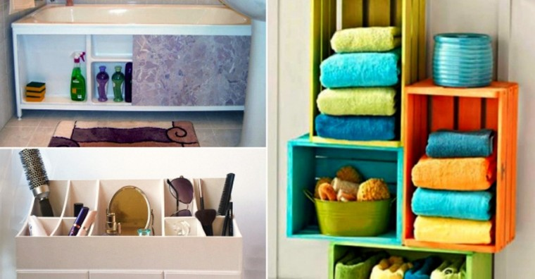 Простые и оригинальные способы наведения порядка в ванной комнате 5