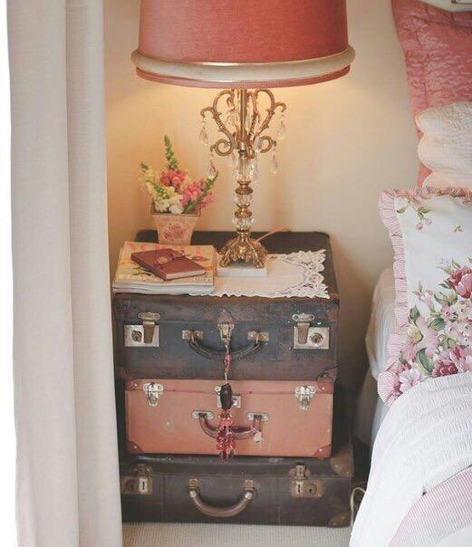 Что можно сделать из старых чемоданов 1