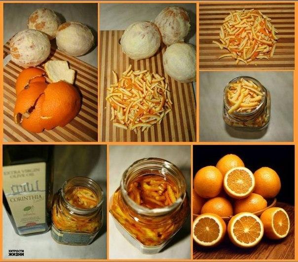 Делаем ароматное масло из апельсина 1