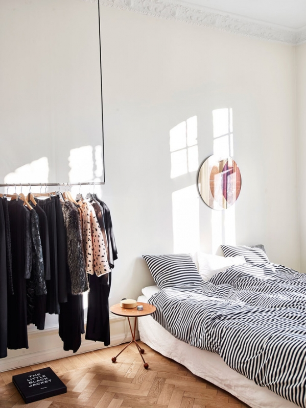 Как сделать маленькую спальню и красивой, и практичной, и удобной 2