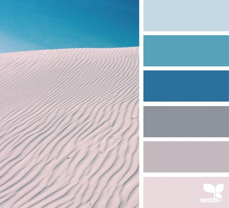 С какими цветами красиво сочетается синий 5