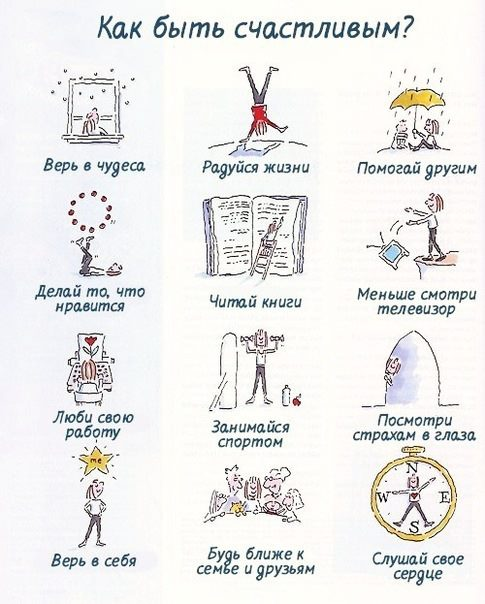 Как быть счастливым 0
