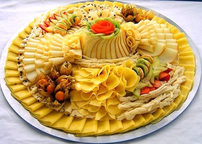 Как создать красивые сырные композиции на ужин, чтобы порадовать семью 4