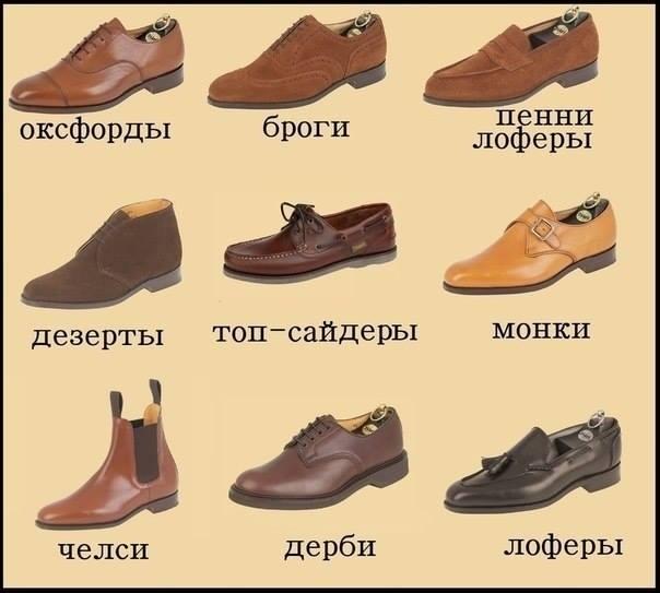 Путеводитель по мужской обуви: называем правильно 1