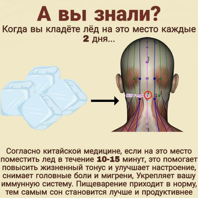 Тайная точка, запускающая процесс оздоровления организма 0