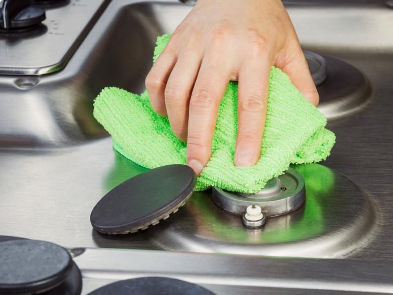 Чистая плита легким движением руки 0