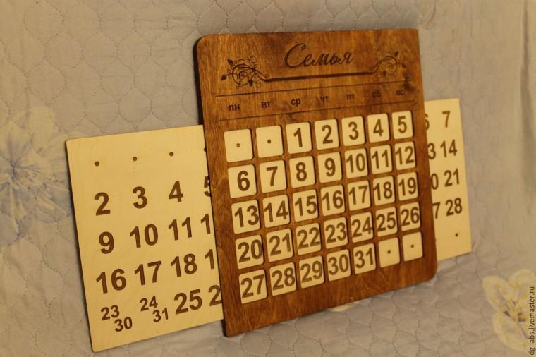 Как сделать один календарь и на всю жизнь 3