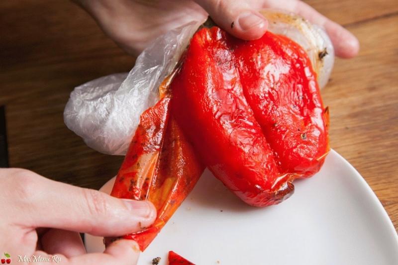 Как легко и быстро очистить перец от кожуры 0