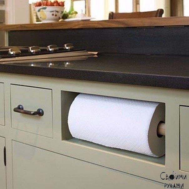 8 бесконечно удобных способов сэкономить место на кухне 0