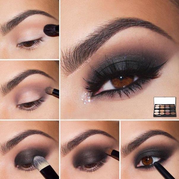 """Как сделать макияж """"Смоки айс"""" 0"""