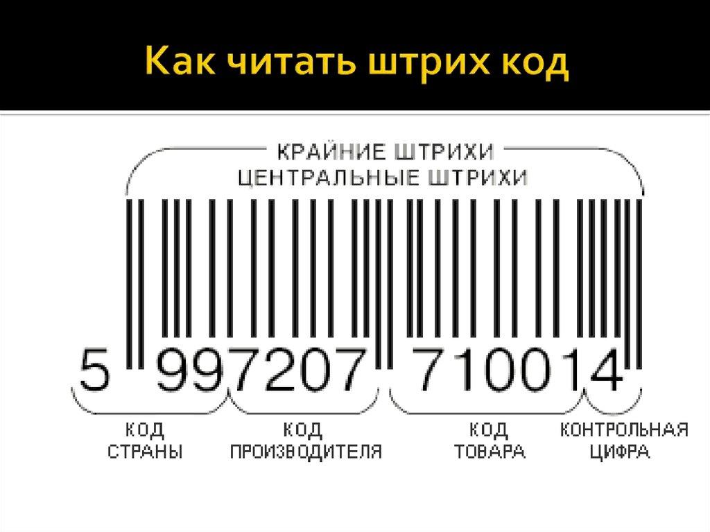 вот расшифровать штрих код открытки программе
