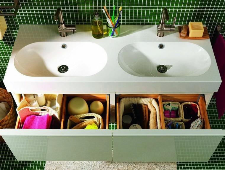 Простые и оригинальные способы наведения порядка в ванной комнате 1