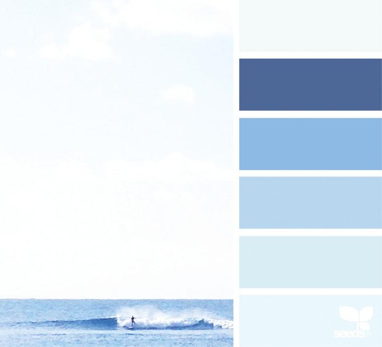 С какими цветами красиво сочетается синий 3
