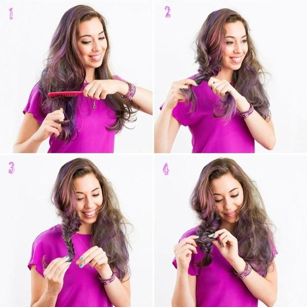 Как сделать красивые прически для длинных волос 3