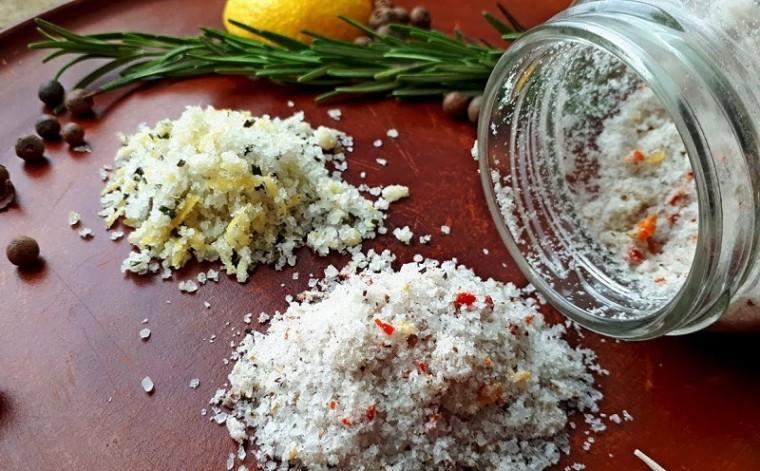 Как сделать ароматизированную витаминную соль своими руками 0