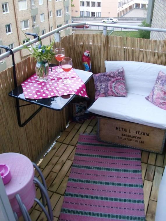 Идеи, как организовать уютный балкон 0