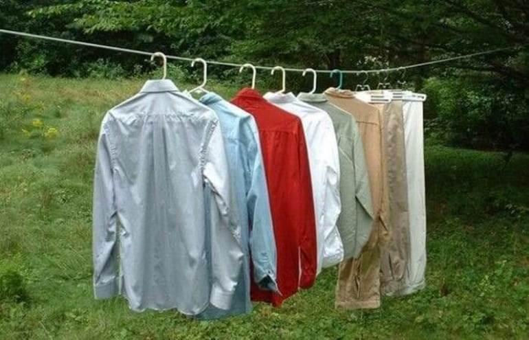 Как высушить белье быстро 2