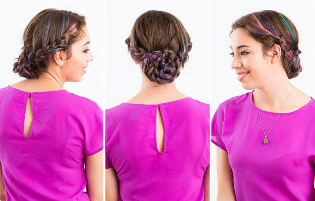 Как сделать красивые прически для длинных волос 4