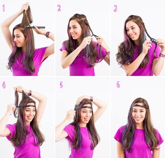 Как сделать красивые прически для длинных волос 1