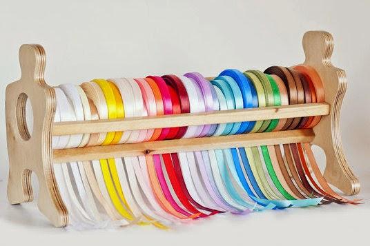Удобные способы хранения лент и декоративных ниток 1