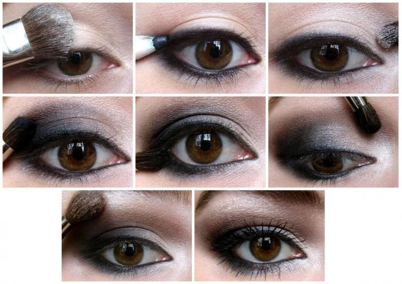 """Как сделать макияж """"Смоки айс"""" 2"""