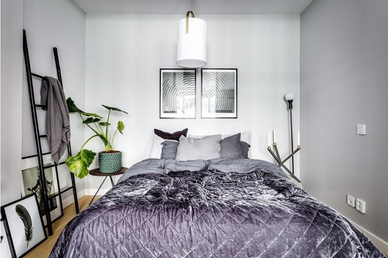 Как сделать маленькую спальню и красивой, и практичной, и удобной 1