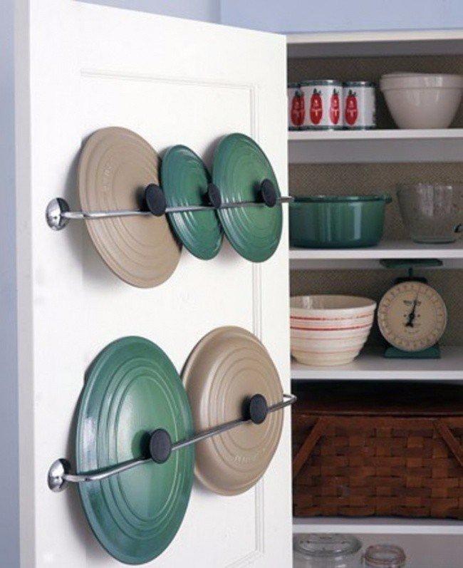 8 бесконечно удобных способов сэкономить место на кухне 4