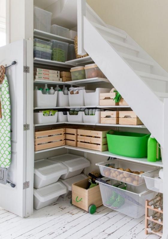 Идеи организации пространства в доме для поддержания порядка 5