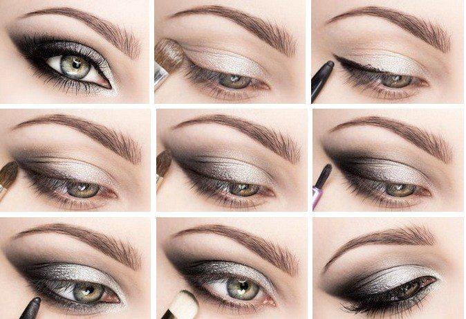 """Как сделать макияж """"Смоки айс"""" 1"""