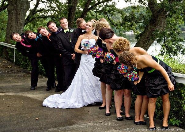 Какие интересные и забавные фотографии можно сделать на свадьбе 2