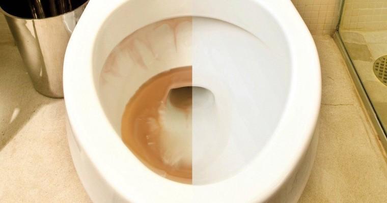 Проверенный способ удаления ржавчины с ванны или унитаза 0