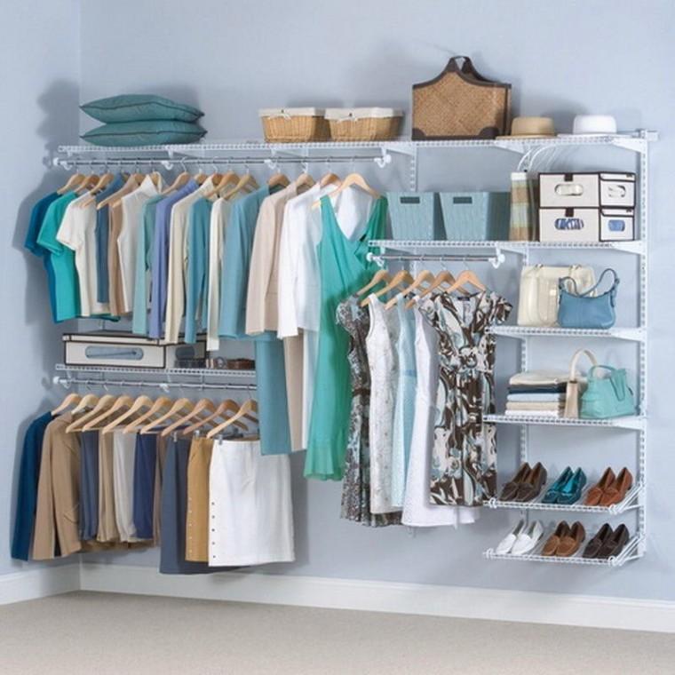 Варианты хранения вещей для тех, у кого нет шкафа 5