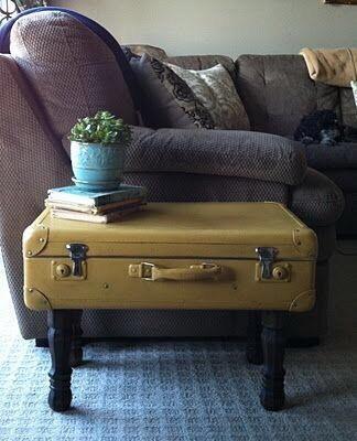 Что можно сделать из старых чемоданов 3
