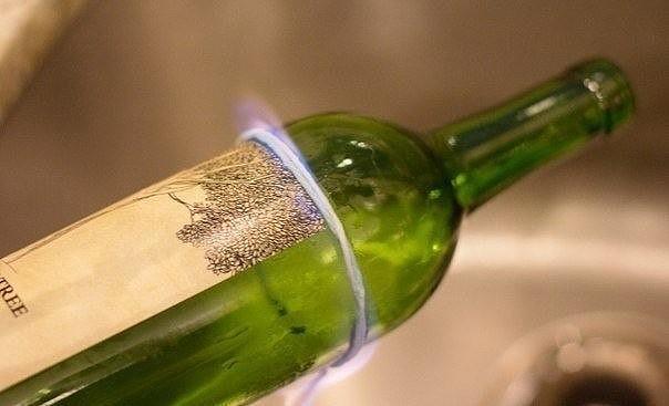 Как аккуратно, быстро и легко разрезать стеклянную бутылку 4