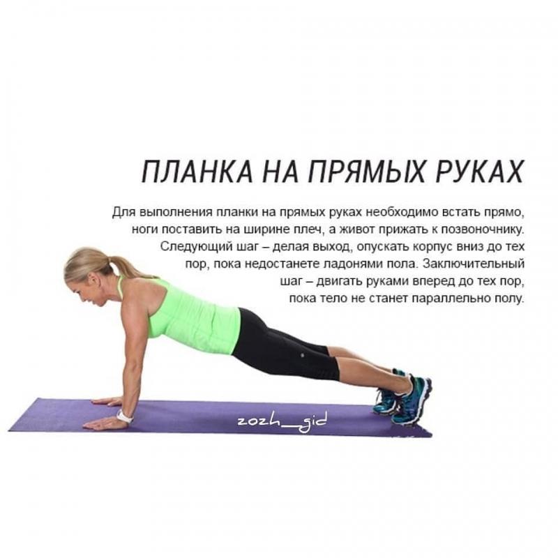 Эффективность Планки При Похудении. Поможет ли похудеть упражнение «планка»?