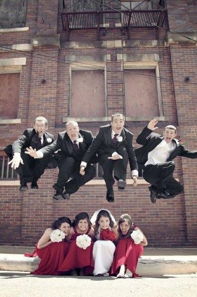 Какие интересные и забавные фотографии можно сделать на свадьбе 8