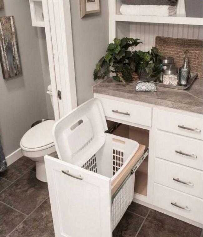 Простые и оригинальные способы наведения порядка в ванной комнате 2