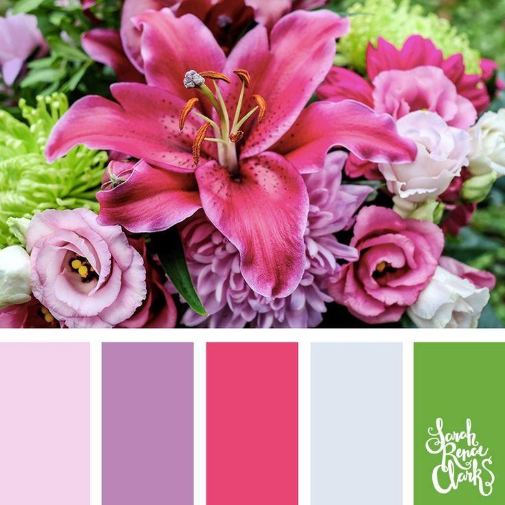 Яркие и сочные сочетания цветов 5