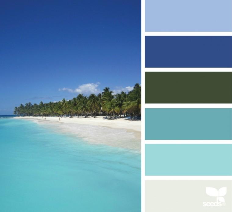 С какими цветами красиво сочетается синий 4